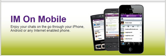 Yahoo Messenger for Phones