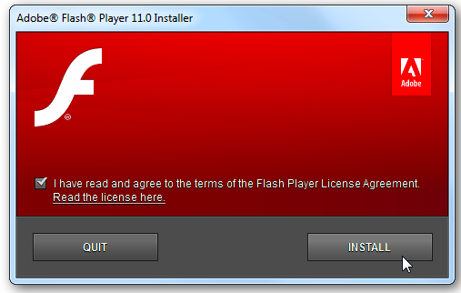 Flash Player And