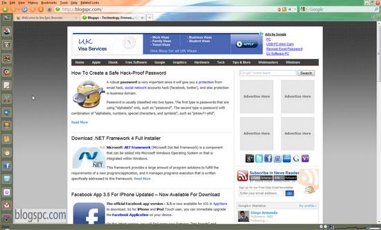 Epic Web Browser
