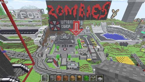 MineCraft Zombies Server