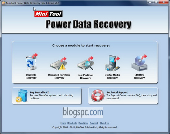 Power Data Revocery Tool Free Version