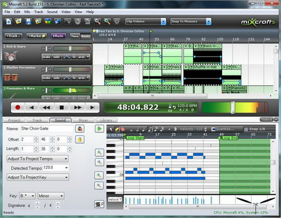 mixcraft 5 recording studio software free