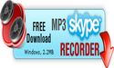 MP3 Skype Recorder Logo