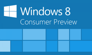 Windows 8 Consumer Preview Logo