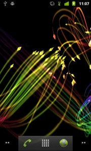 android live wallpaper: 3D-FireFlies-Live-Wallpaper for your android device