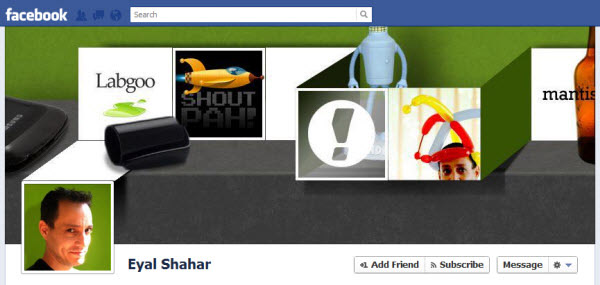 eyal-shahar facebook timeline