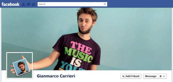 gianmarco-carrieri facebook timeline