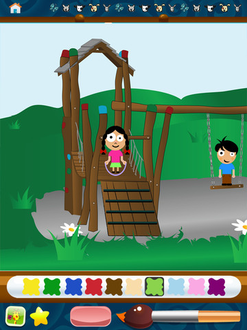 kids art ipad app