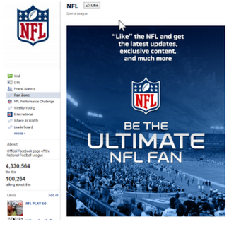 Ultimate NFL Fan Page