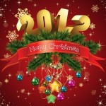 2012 christmas wallpapers