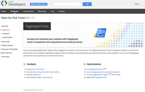 14 - Google Page Speed