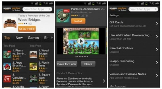 Amazon Appstore Android App