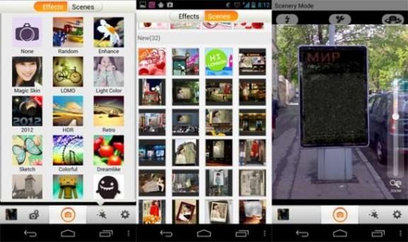 Camera 360 Android App