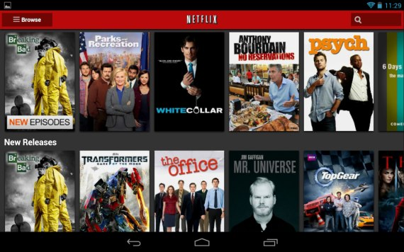 Netflix Android App Download