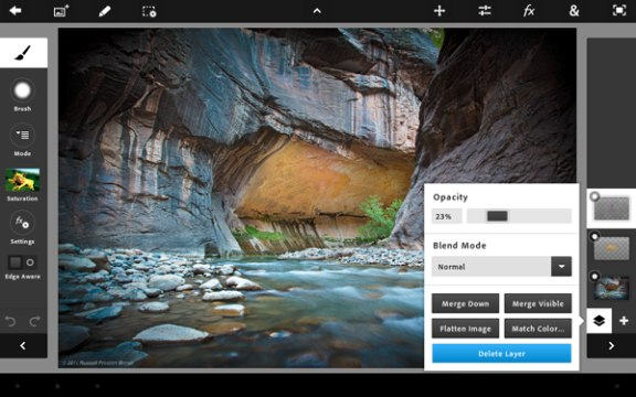 Photoshop Touch Android App