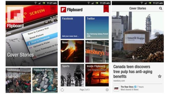 Flipboard Android App