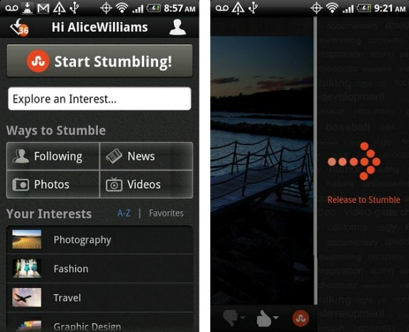 stumbleupon-android-app