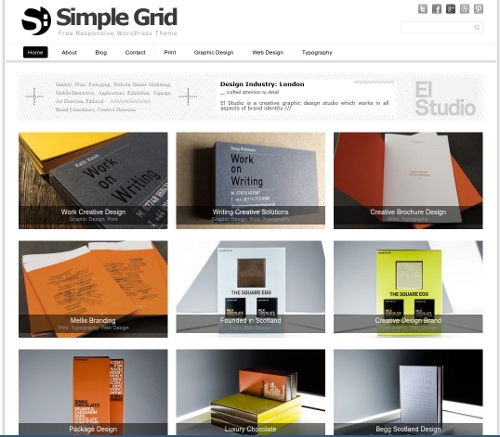 15-Simple Grid Theme