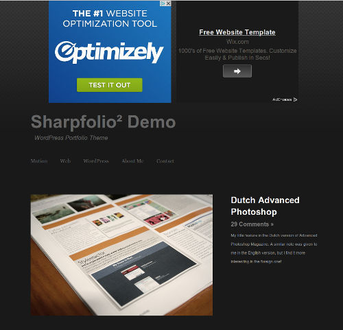 28-Sharpfolio² Demo
