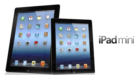 Apple iPad Mini vs iPad 2 vs iPad Retina 4