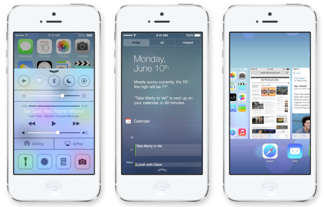 review of Apple iOS7