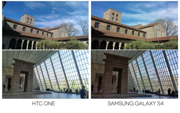 Samsung Galaxy S4 vs HTC One Camera