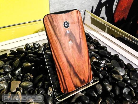 Motorola Moto X Wooden Case